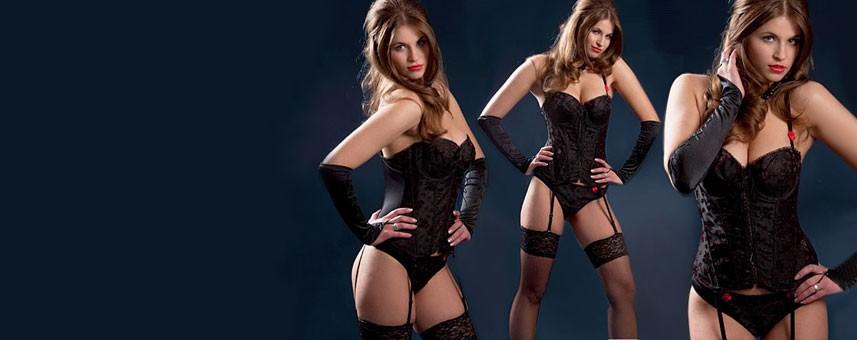 Verführerische Corsagen zählen zu den attraktivsten Varianten erotischer Lingerie...